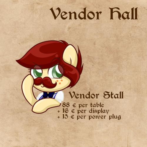 Vendor Stall Breakdown